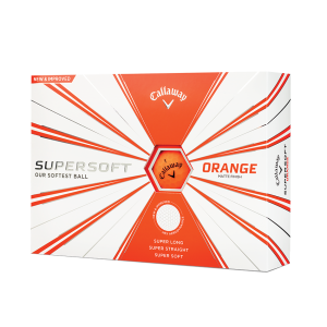 balles callaway supersoft orange