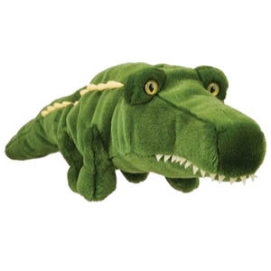 daphne-s-couvre-clubs-alligator-peluche